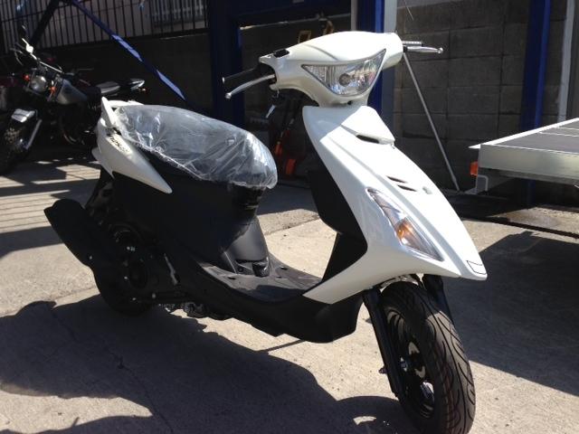 今日の入荷バイクは・・・アドレスV125SS 激マブい!!