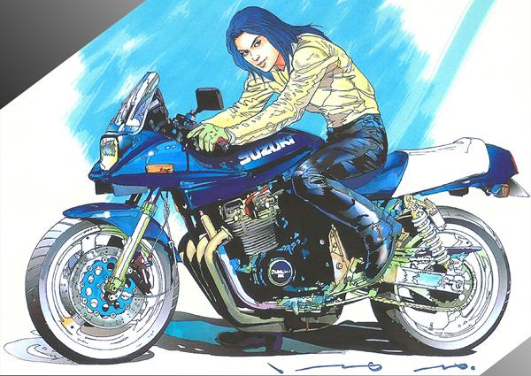 今日は影響を受けたバイク漫画ネタ☆記憶に新しいものから「キリン」。カタナ買っちゃいました!