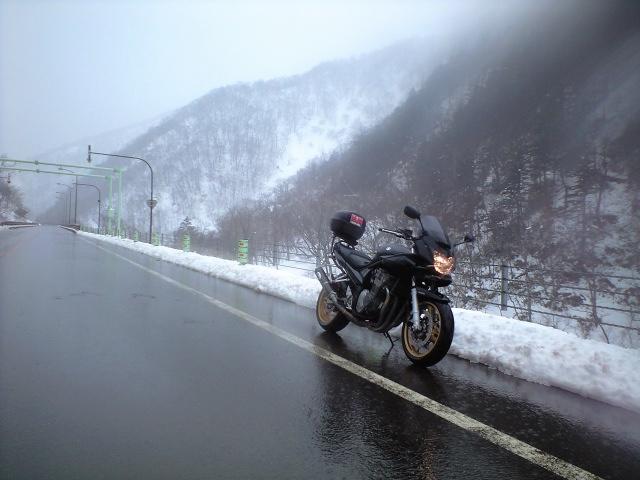 天馬街道・・・バイク「0」