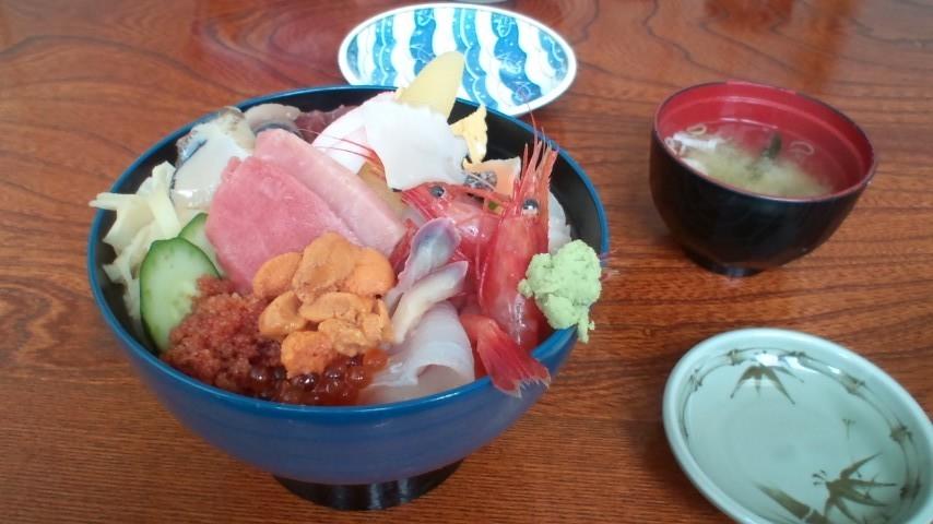 どーっすか!この海鮮丼!!