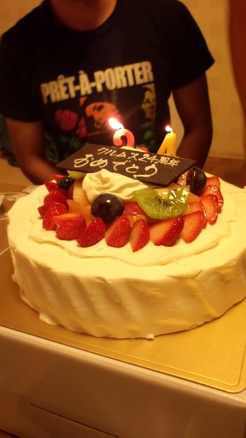 クルムス君24歳のお誕生日☆パーティ盛り上がりました!
