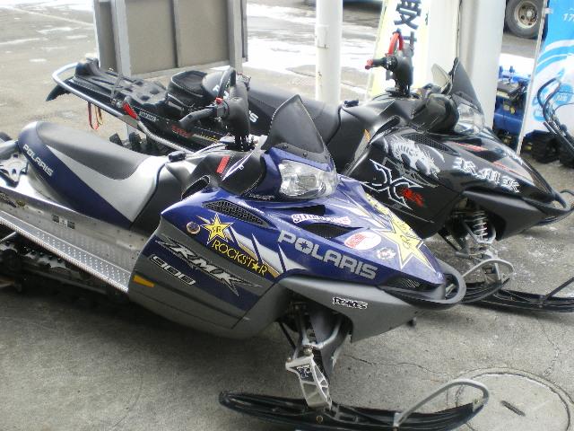 ポラリス900RMK W納車☆